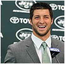 Tebow and the Jets